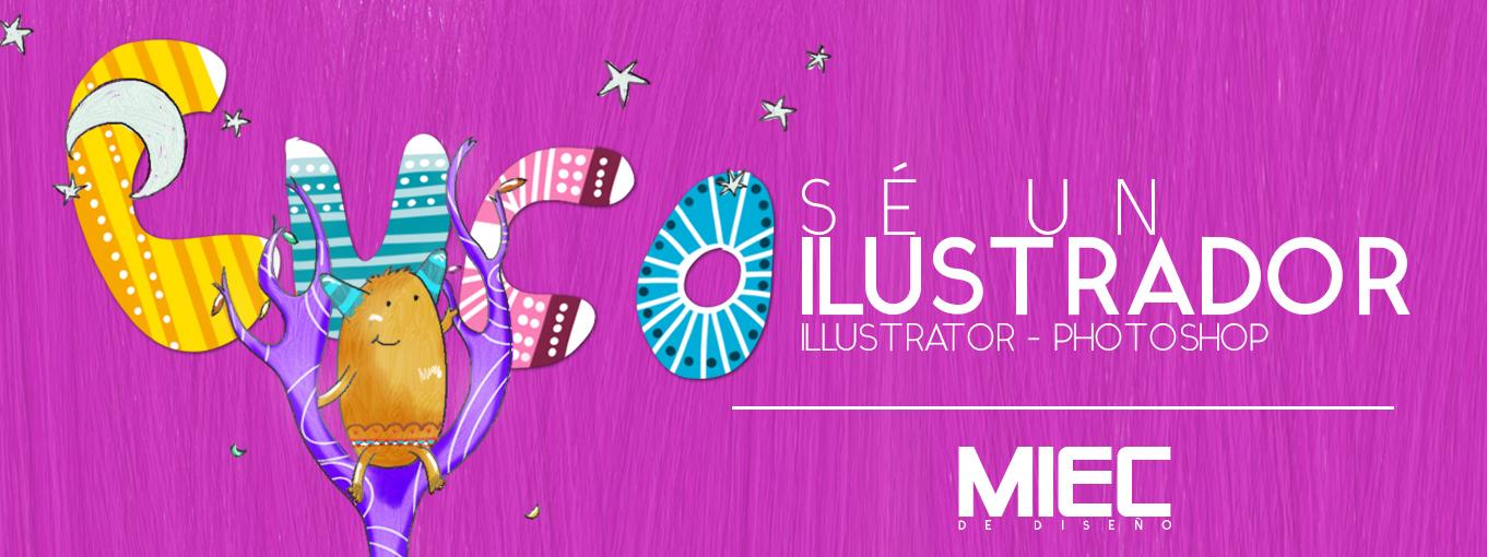 curso illustrator, curso ilustracion digital, cursos de pintura digital, taller ilustracion